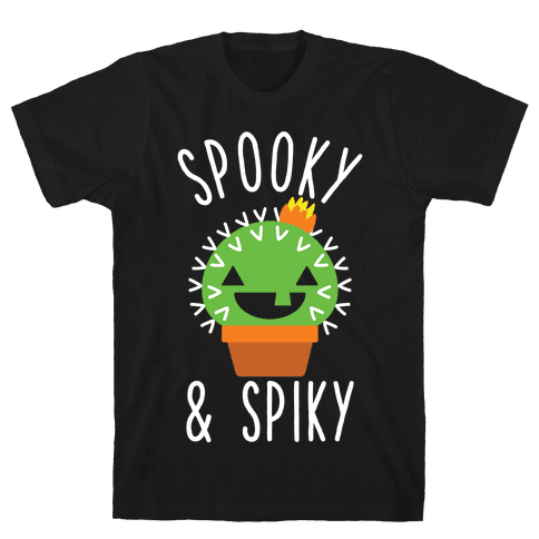 Spooky and Spiky Mens T-Shirt