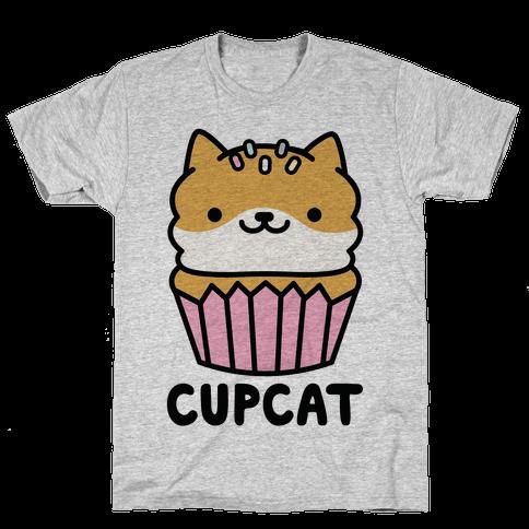Cupcat Mens T-Shirt