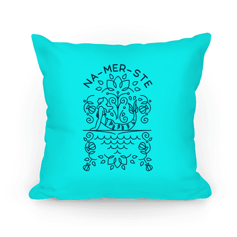Na-Mer-Ste Mermaid Yoga Pillow