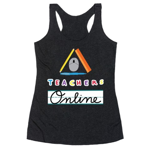 TOL: Teachers Online Racerback Tank Top