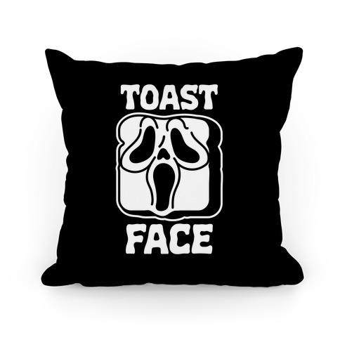 Toast Face Pillow