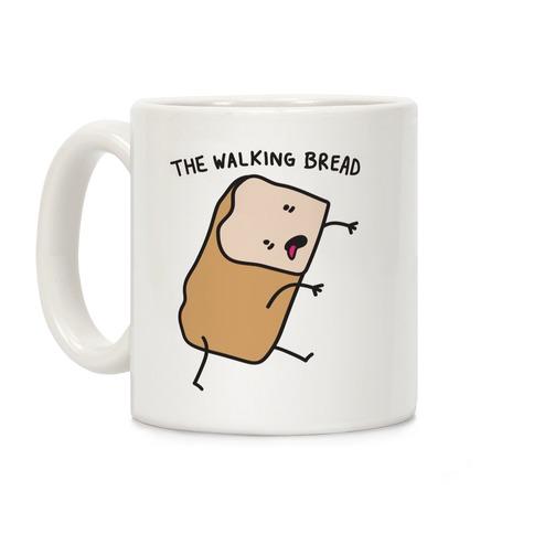 The Walking Bread Parody Coffee Mug