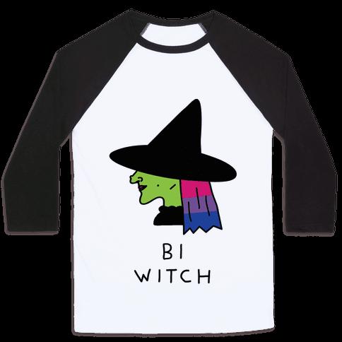 Bi Witch Baseball Tee