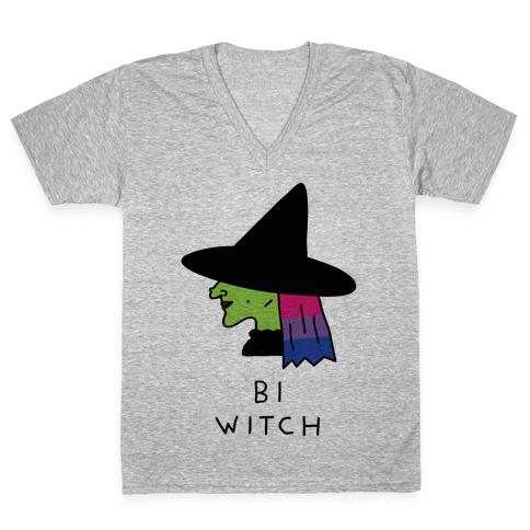 Bi Witch V-Neck Tee Shirt
