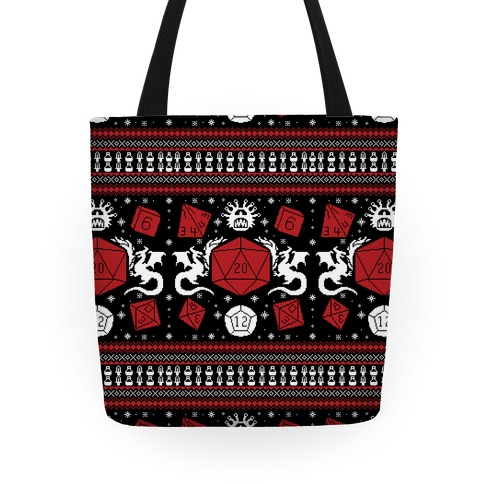 D&D Ugly Sweater Tote
