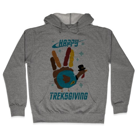 Happy Treksgiving Hooded Sweatshirt