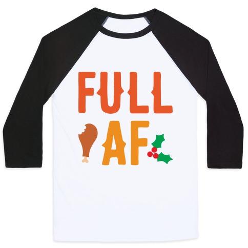 Full AF Baseball Tee