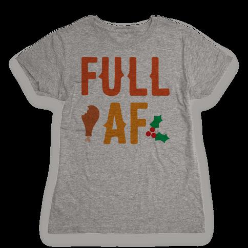 Full AF Womens T-Shirt