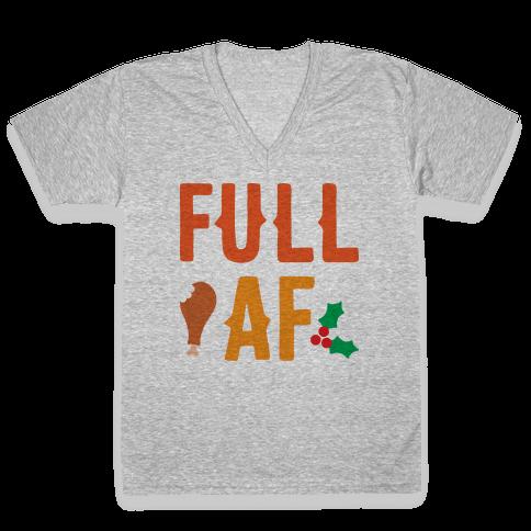 Full AF V-Neck Tee Shirt