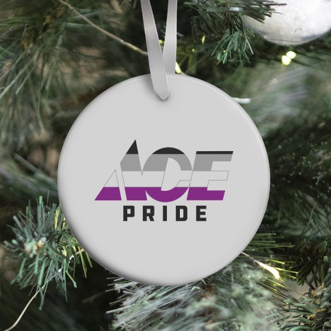 Ace Pride Parody Logo Ornament