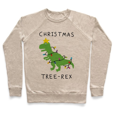 Christmas Tree Rex Pullover