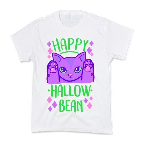 Happy Hallow-Bean Kids T-Shirt