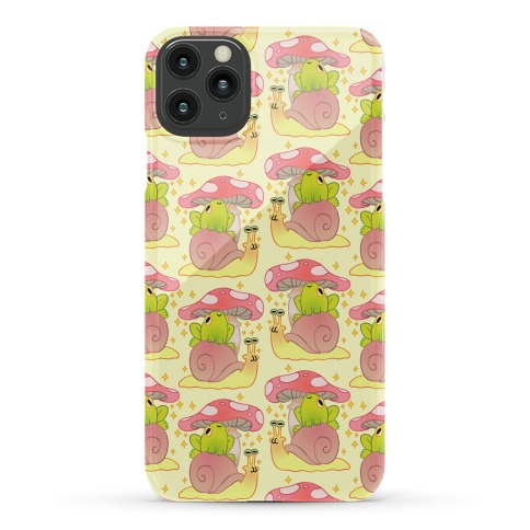 Cute Snail & Frog Phone Case