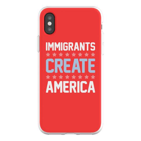 Immigrants Create America Phone Flexi-Case
