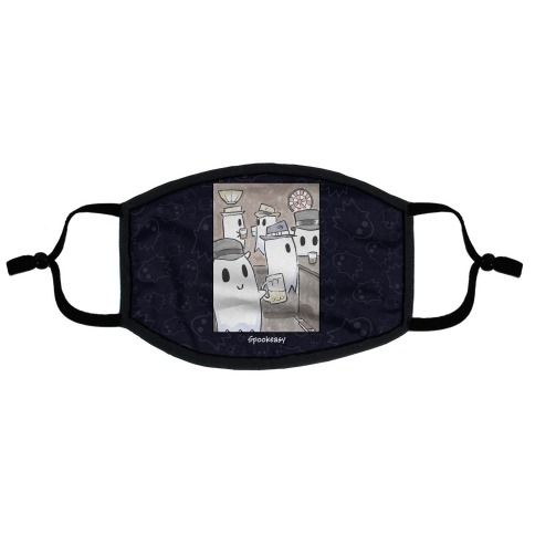 Spookeasy Flat Face Mask