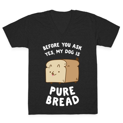 Pure Bread V-Neck Tee Shirt