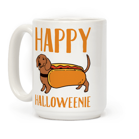 Happy Halloweenie Coffee Mug