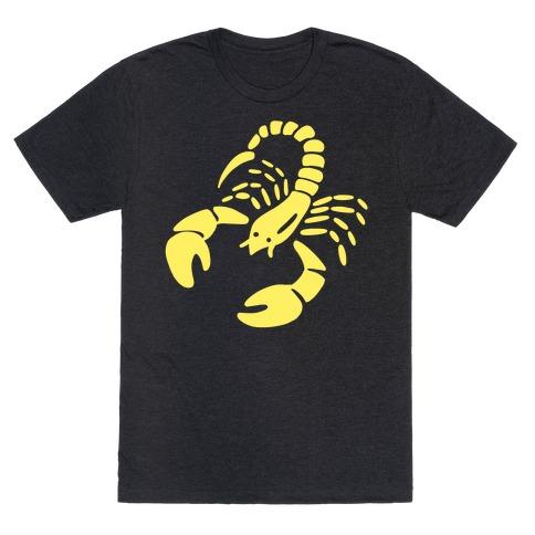 Zodiacs Of The Hidden Temple - Scorpio Scorpions T-Shirt