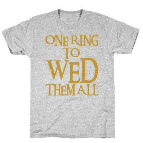 Best Selling One Ring To Rule Them All Nerdy Wedding Gift
