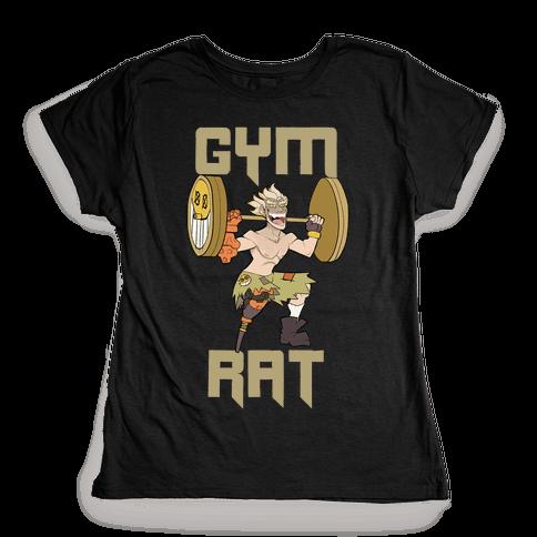 Gym Rat Womens T-Shirt