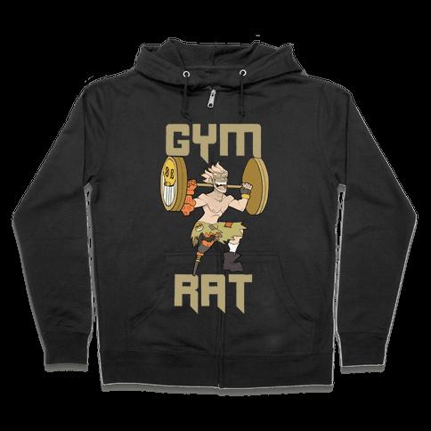 Gym Rat Zip Hoodie
