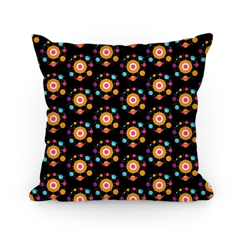 Solar System Pattern Pillow