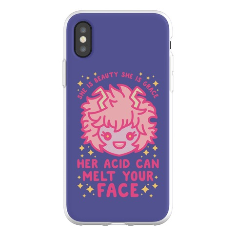 Her Acid Can Melt Your Face Phone Flexi-Case