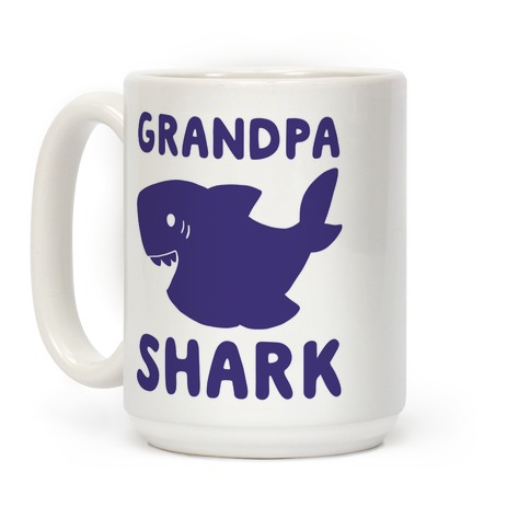 Grandpa Shark Coffee Mug