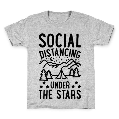 Social Distancing Under The Stars Kids T-Shirt