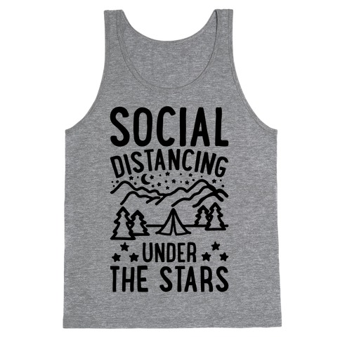 Social Distancing Under The Stars Tank Top
