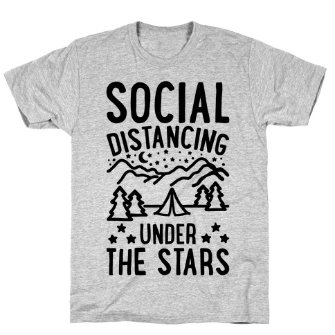 Social Distancing Under The Stars T-Shirt