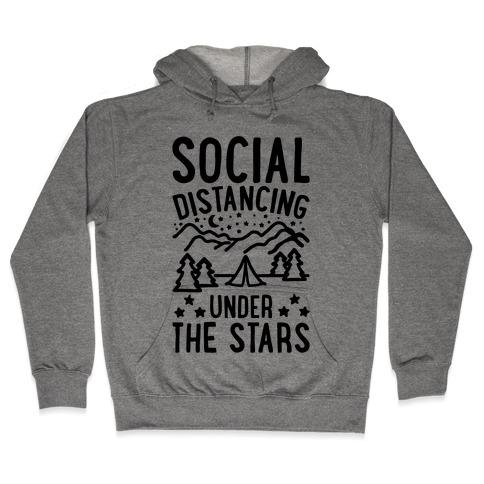 Social Distancing Under The Stars Hooded Sweatshirt