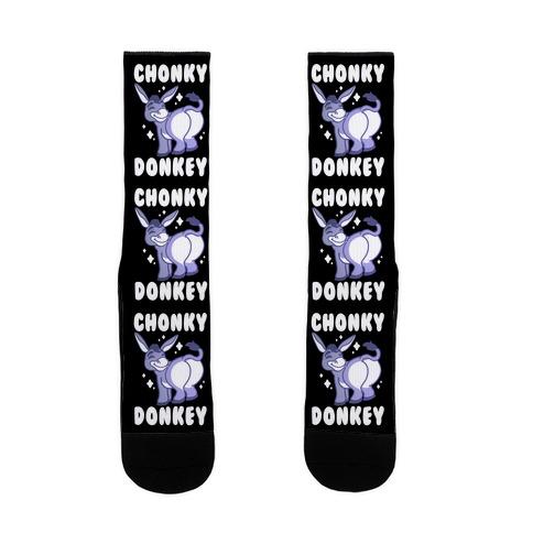 Chonky Donkey Sock