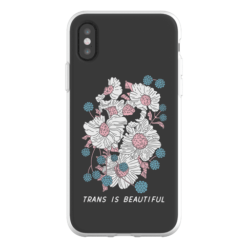 Trans is beautiful Phone Flexi-Case