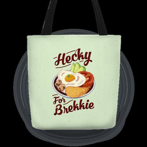 Hecky For Brekkie Tote