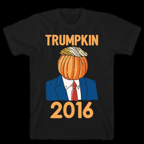 Trumpkin 2016 White Print Mens T-Shirt