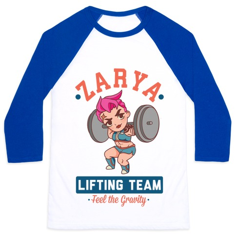 Zarya Lifting Team Baseball Tee