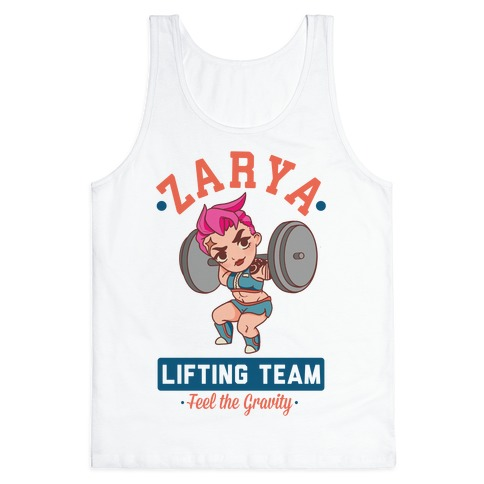 Zarya Lifting Team Tank Top