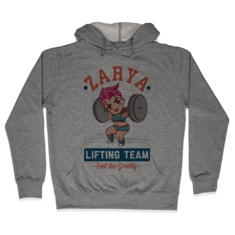 Zarya Lifting Team Hooded Sweatshirt