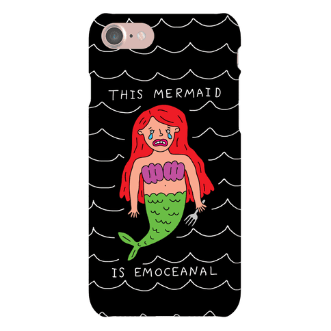 This Mermaid Is Emoceanal Phone Case