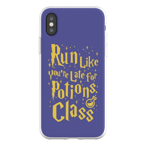 Run Like You're Late For Potions Class Phone Flexi-Case