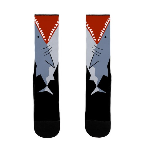 Ankle Biter Sharks Sock