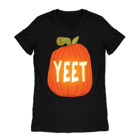 Yeet Pumpkin Womens T-Shirt