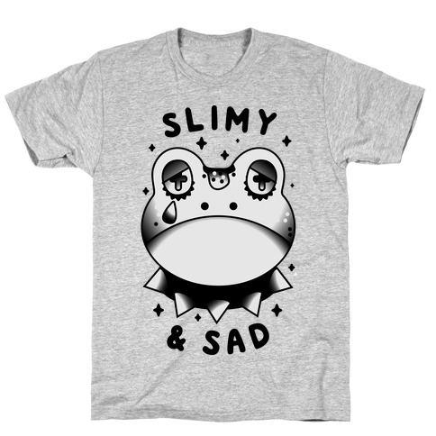 Slimy & Sad Frog T-Shirt