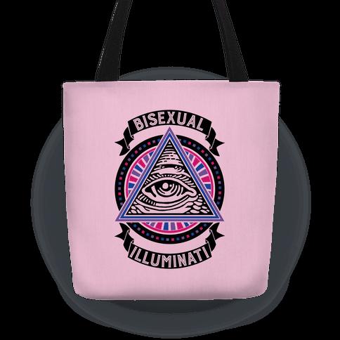 Bisexual Illuminati Tote
