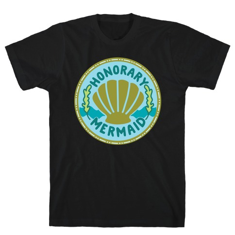 Honorary Mermaid Culture Merit Badge T-Shirt