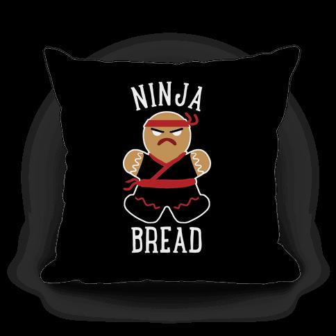 Ninja Bread Pillow