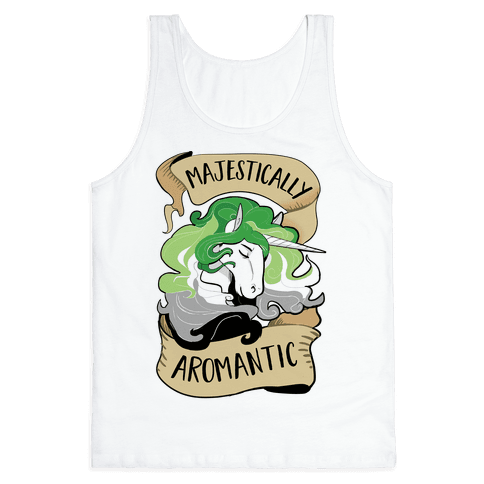 Majestically Aromantic Tank Top