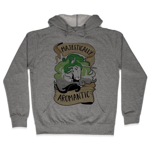 Majestically Aromantic Hooded Sweatshirt
