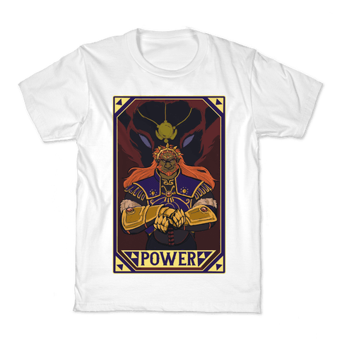Power - Ganondorf Kids T-Shirt